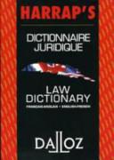 Harrap's dictionnaire juridique
