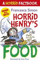 Horrid Henry s Food
