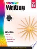 """Spectrum Writing, Grade 6"" by Spectrum"