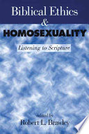Biblical Ethics Homosexuality