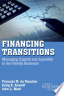 Financing Transitions