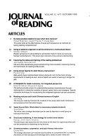 Journal of Reading