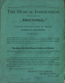 The musical independent