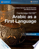 Books - Cambridge Igcse� Arabic As A First Language Workbook | ISBN 9781316636183