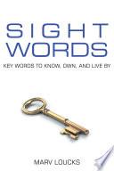 Sight Words Book PDF