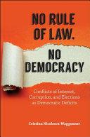 No Rule Of Law No Democracy