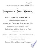 New Orleans  the Crescent City  as it Appears in the Year 1895