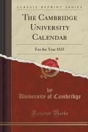 The Cambridge University Calendar