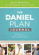 The Daniel Plan Journal Book