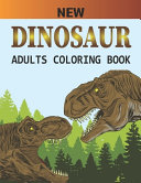 New Dinosaur Adults Coloring Book