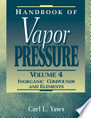 Handbook of Vapor Pressure: Volume 4
