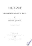 The Island, Or, An Adventure of a Person of Quality