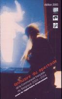 Annuaire du spectacle 2003-2004 (éd, 2005)