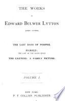 The Works of Edward Bulwer Lytton (Lord Lytton)