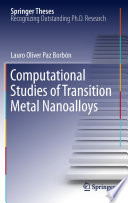Computational Studies of Transition Metal Nanoalloys