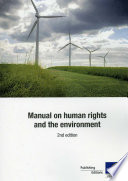 Manual On Human Rights And The Environment 2nd Edition