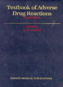 Textbook of Adverse Drug Reactions