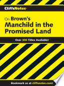 CliffsNotes on Brown s Manchild in the Promised Land Book PDF