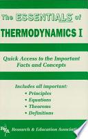 Thermodynamics I Essentials