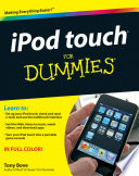 """iPod touch For Dummies®"" by Tony Bove"
