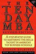 Ten-day MBA, The, Rev.