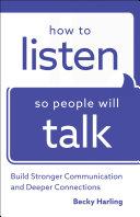 How to Listen So People Will Talk Pdf/ePub eBook