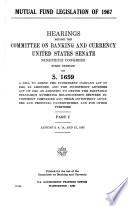 Mutual Fund Legislation of 1967