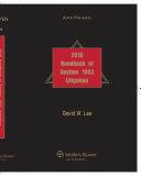 Handbook of Section 1983 Litigation 2010