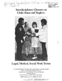 Interdisciplinary Glossary on child abuse and neglect