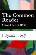 The Common Reader   Second Series  1935