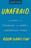 Unafraid Leader Guide Book