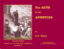 The Acts of the Apostles   Illustrated