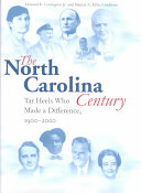 The North Carolina Century Book PDF
