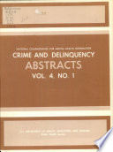 Crime and Delinquency Abstracts