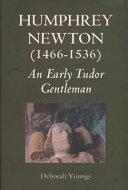Pdf Humphrey Newton (1466-1536)
