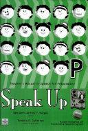 Speak Up Preparatory Teacher s Manual1st Ed  2007
