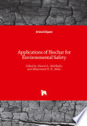 Applications of Biochar for Environmental Safety