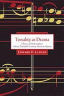 Tonality as Drama Pdf/ePub eBook