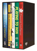 Harvard Business Review Leadership   Strategy Boxed Set  5 Books