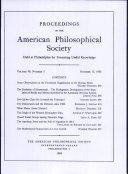 Proceedings, American Philosophical Society (vol. 98, no. 5) [Pdf/ePub] eBook
