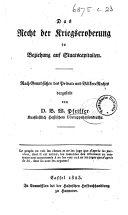 Erläuterungen zu den Kriegs-Artikeln für das Preussische Heer [of 27 June, 1844] und zur Verordnung über die Disciplinar-Bestrafung [of 21 Oct. 1841]. Von E. Fleck. [With the text.]