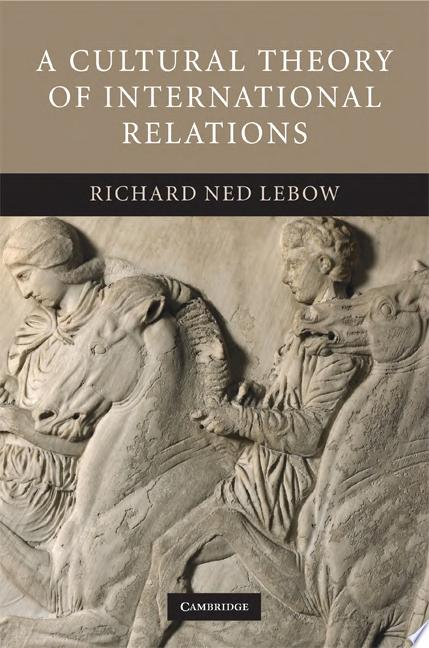 A Cultural Theory of International Relations