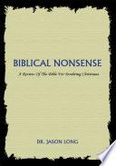 Biblical Nonsense