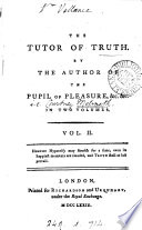 The Tutor Of Truth By The Author Of The Pupil Of Pleasure Book PDF