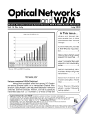 Optical Networks Wdm Monthly Newsletter July 2010