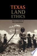 Texas Land Ethics Book PDF