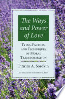 The Ways and Power of Love Book
