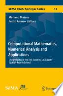 Computational Mathematics  Numerical Analysis and Applications