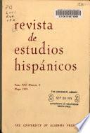Revista de Estudios Hispanicos