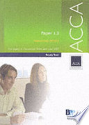 Acca Paper 1. 3 Managing People